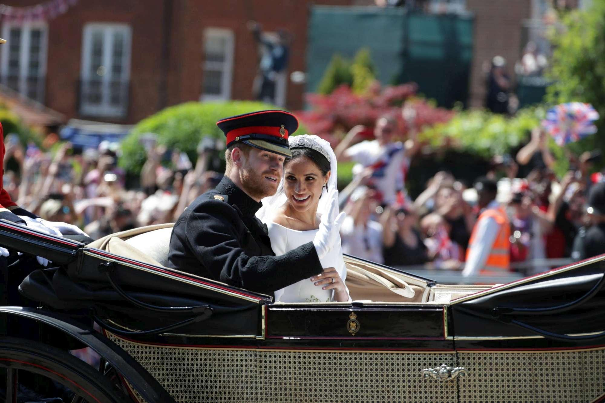 Royal wedding, oltre 100mila persone a Windsor