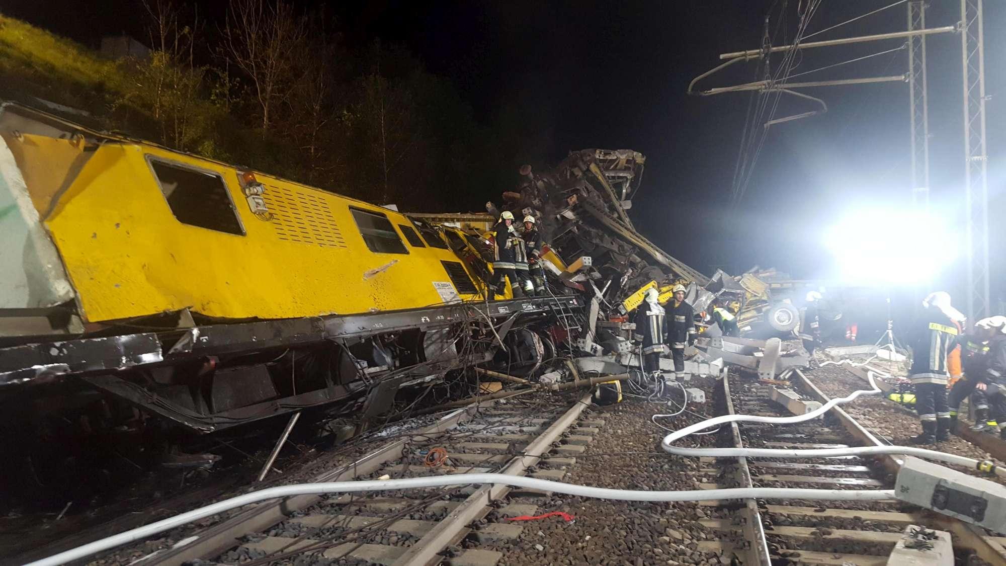 Scontro fra due treni-cantiere sulla ferrovia Bolzano-Brennero ... 59f530766f