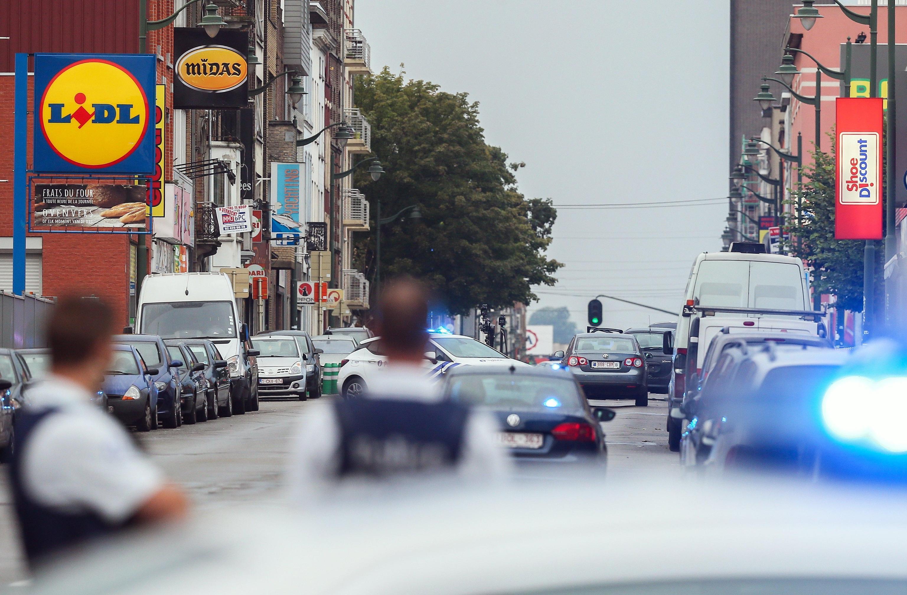 Paura a Molenbeek, polizia sul posto