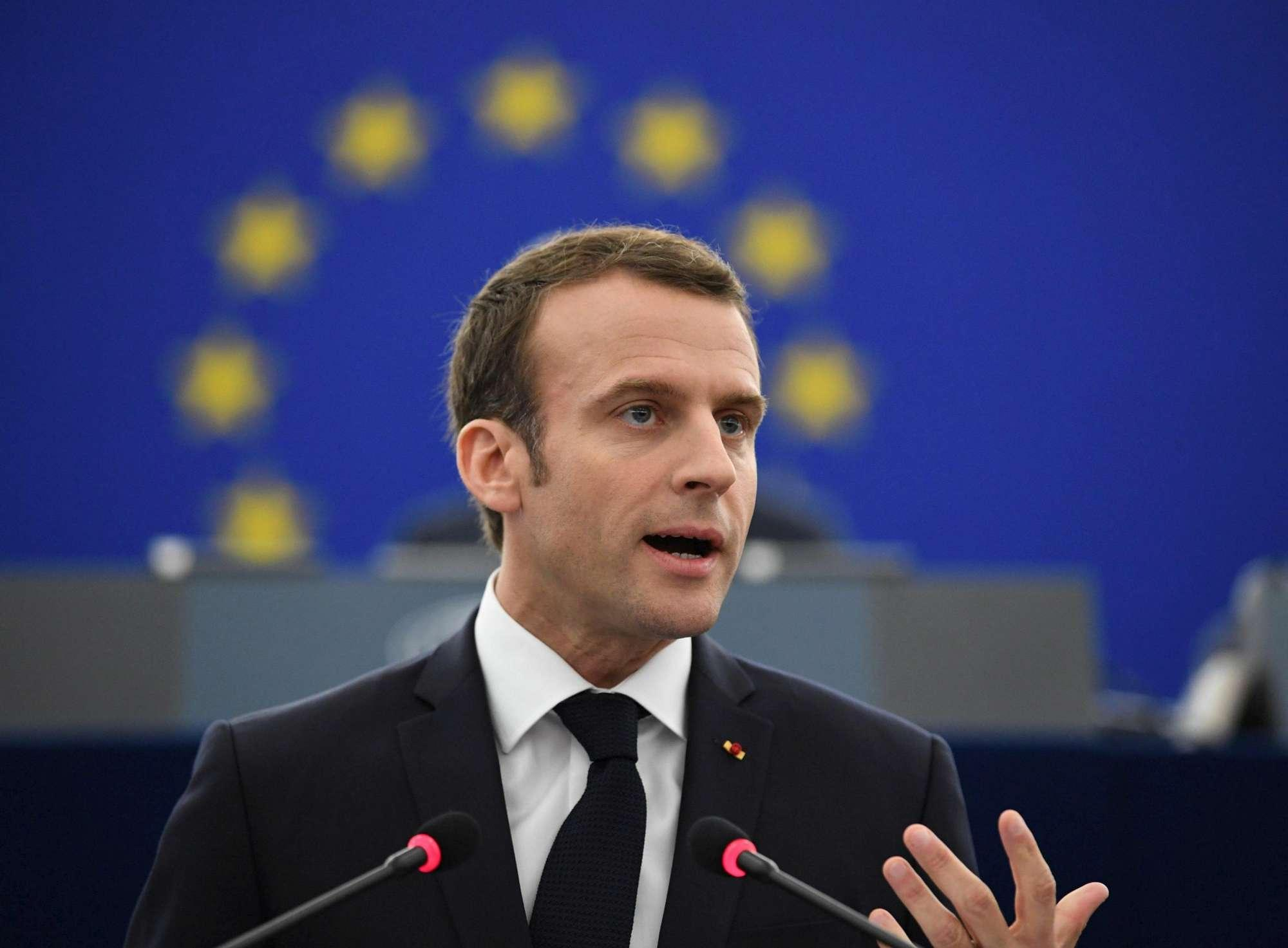 Macron all'Europarlamento:  Ascoltare la collera dei popoli, ora un progetto nuovo