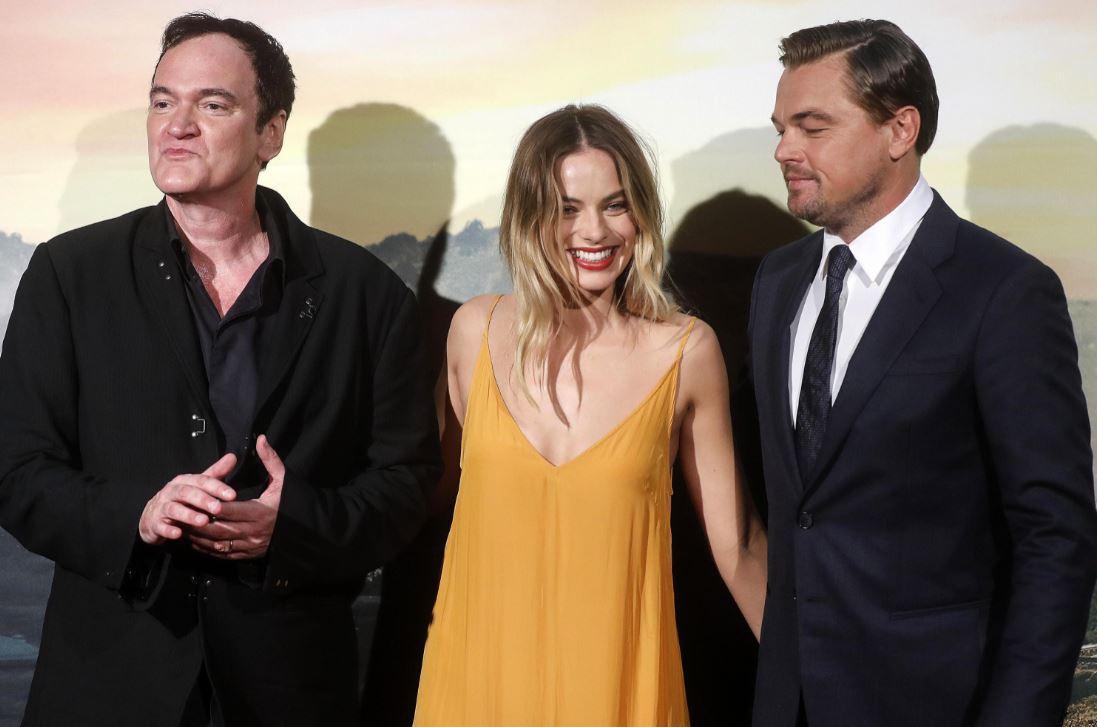 Quentin Tarantino presenta a Roma  C era una volta a... Hollywood  con Leonardo DiCaprio e Margot Robbie e tanti vip