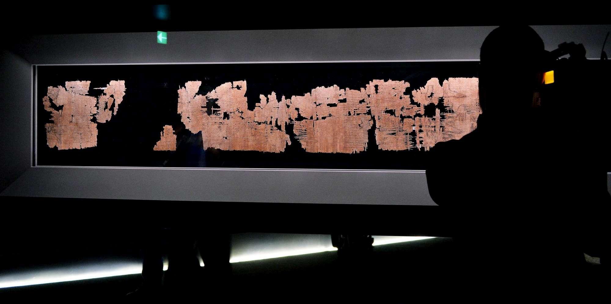 Il Papiro di Artemidoro è falso, fu venduto per quasi tre milioni di euro