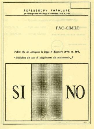 Il  no  che cambiò l Italia, i manifesti del referendum sul divorzio del 1974