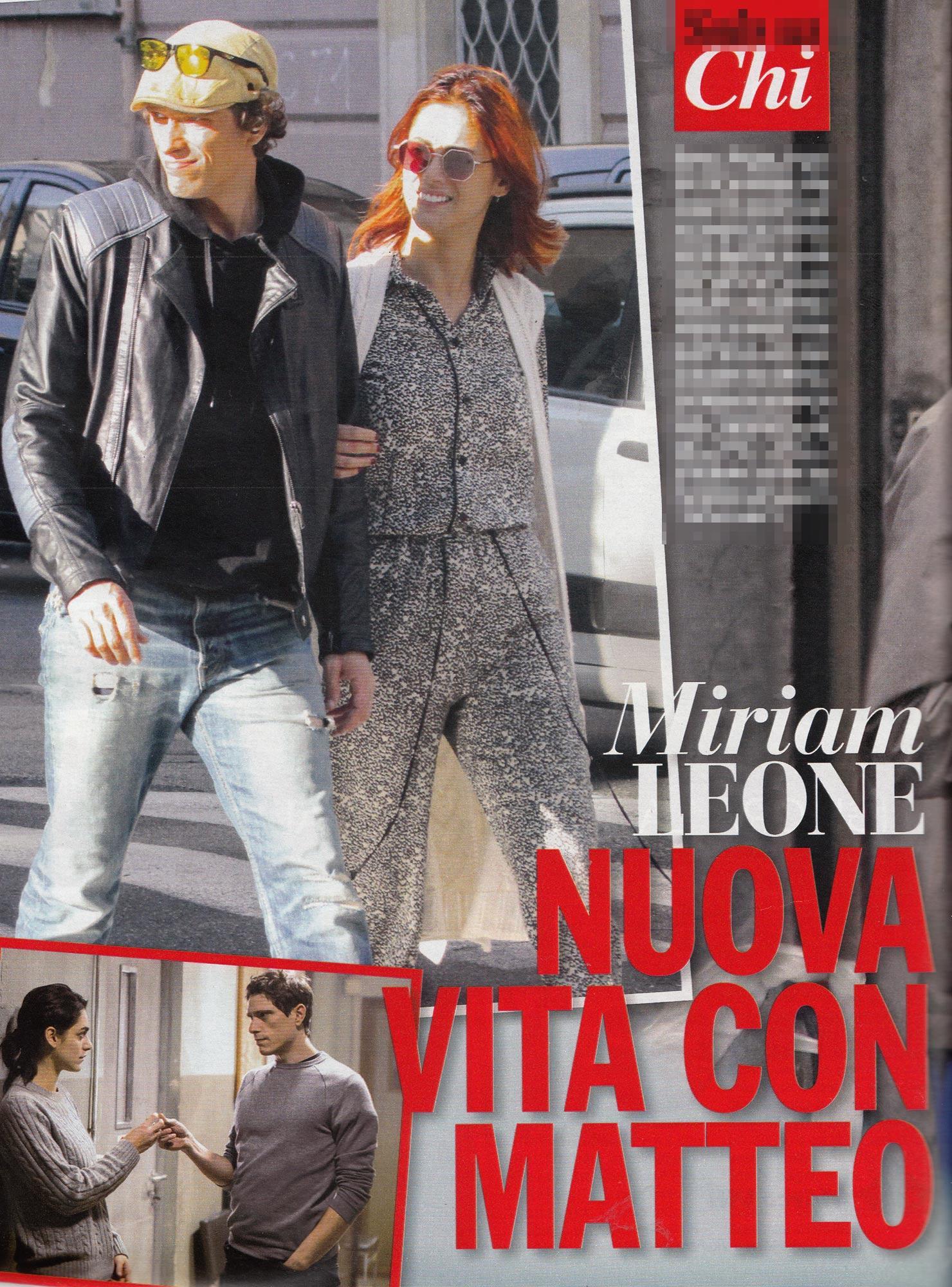 Miriam Leone, baci e spesa insieme al suo Matteo