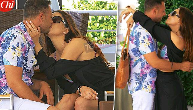 Gessica Notaro, baci a Capri con Marco