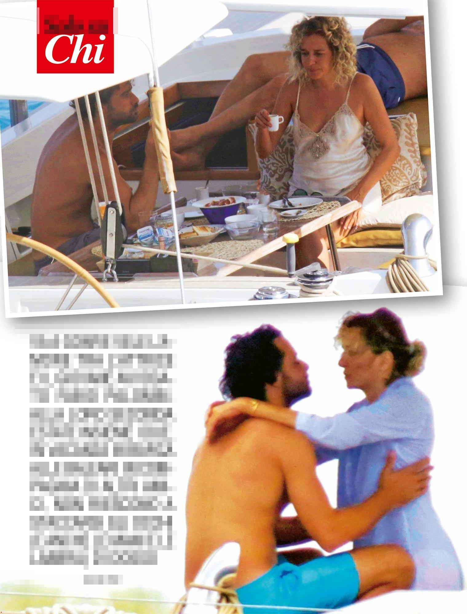 Valeria Golino vacanze a Formentera tra amore e amici