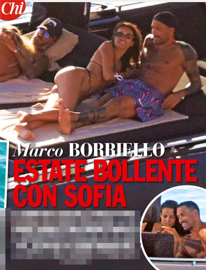 Marco Borriello, carezze hot alla sua nuova fiamma
