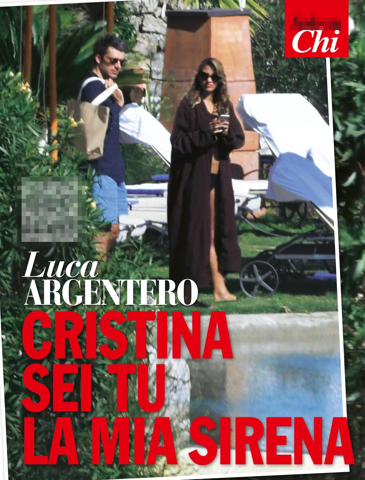 Luca Argentero, weekend d amore con Cristina