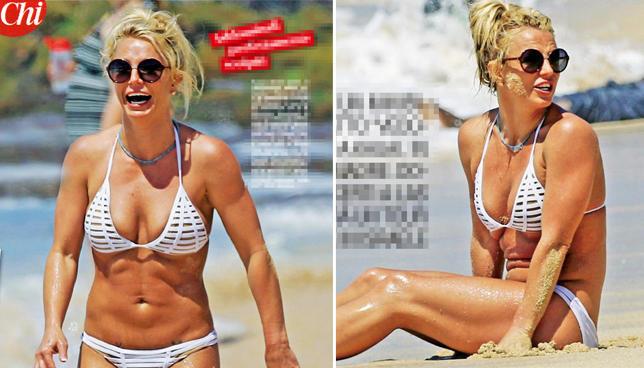 Britney Spears, sirenetta sportiva alle Hawaii