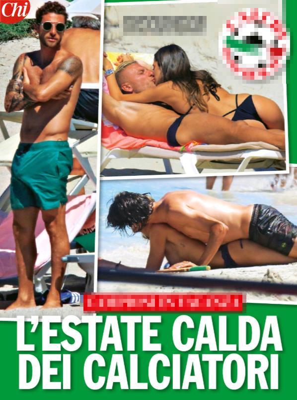Marchisio e gli altri campioni in vacanza, kamasutra da spiaggia