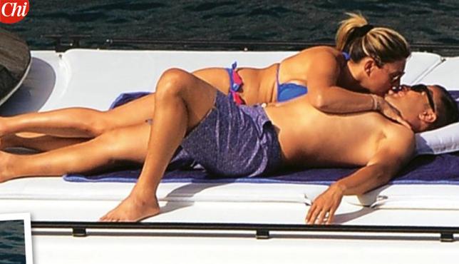 Fabio Cannavaro, acrobazie hot in barca