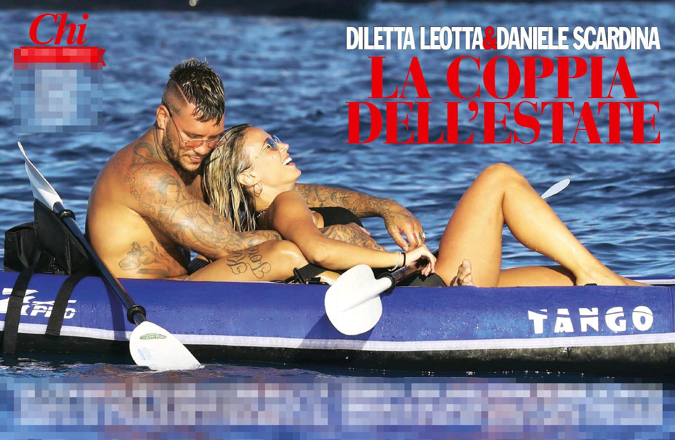 Diletta Leotta, con Scardina l amore prende il largo