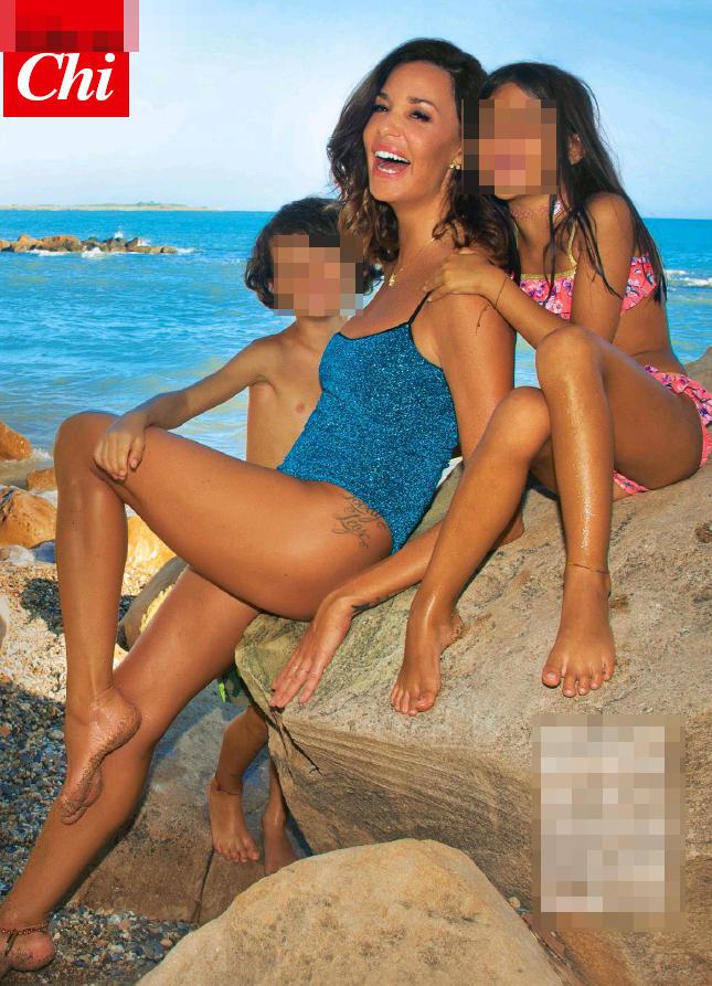 Alessia Fabiani mamma sprint per i suoi gemelli