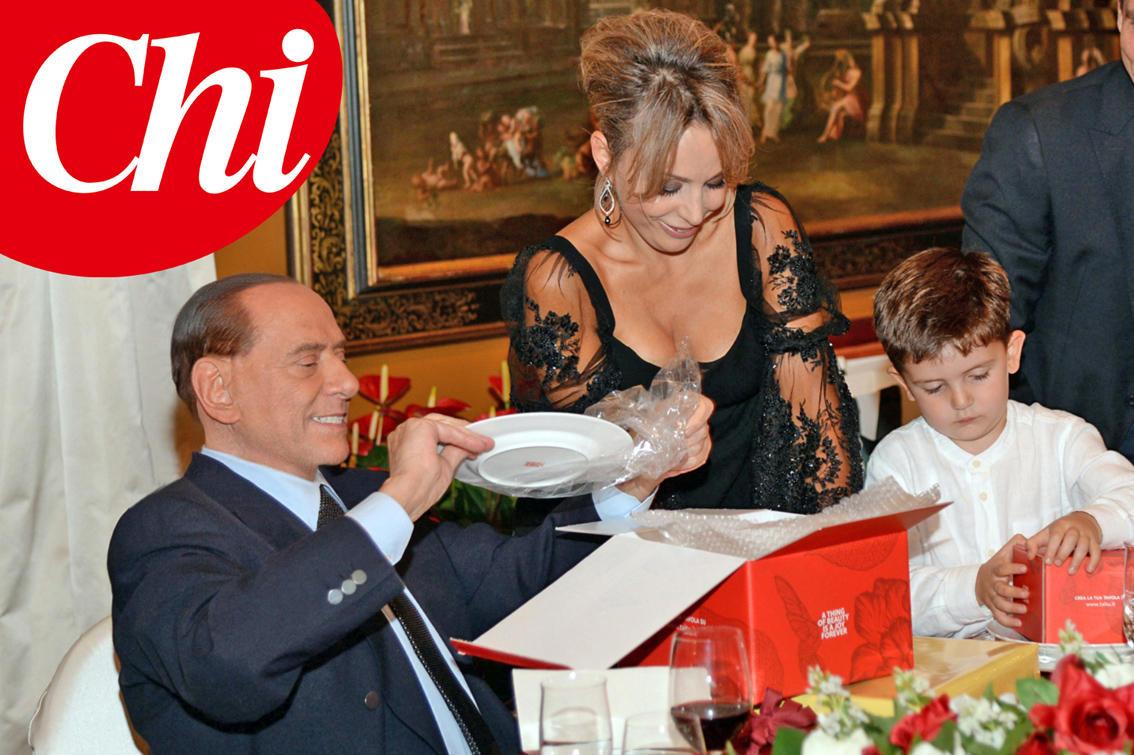 Per Silvio Berlusconi festa di compleanno in famiglia   Foto Tgcom24
