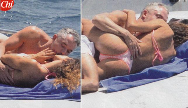 Raffaella Fico e Alessandro Moggi travolti dalla passione
