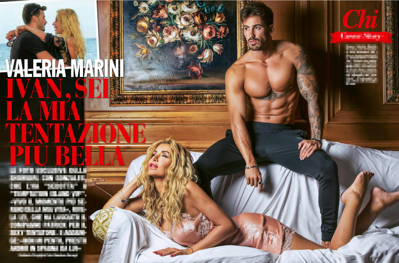 Valeria Marini e Ivan Gonzales, che coppia stellare!
