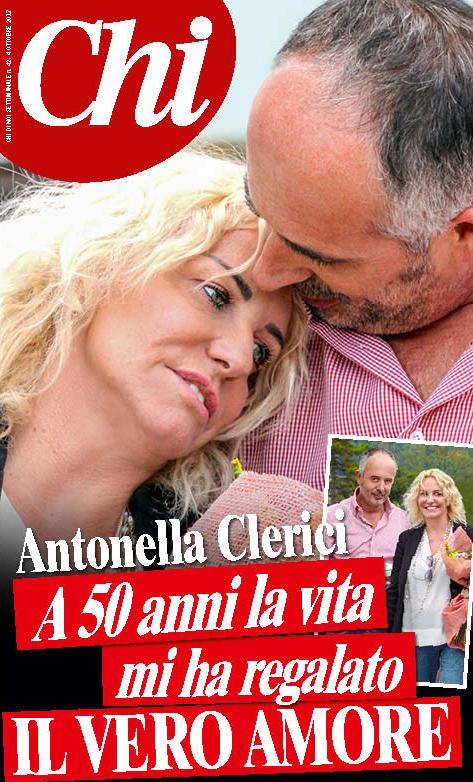 Antonella Clerici innamorata pazza di Garrone