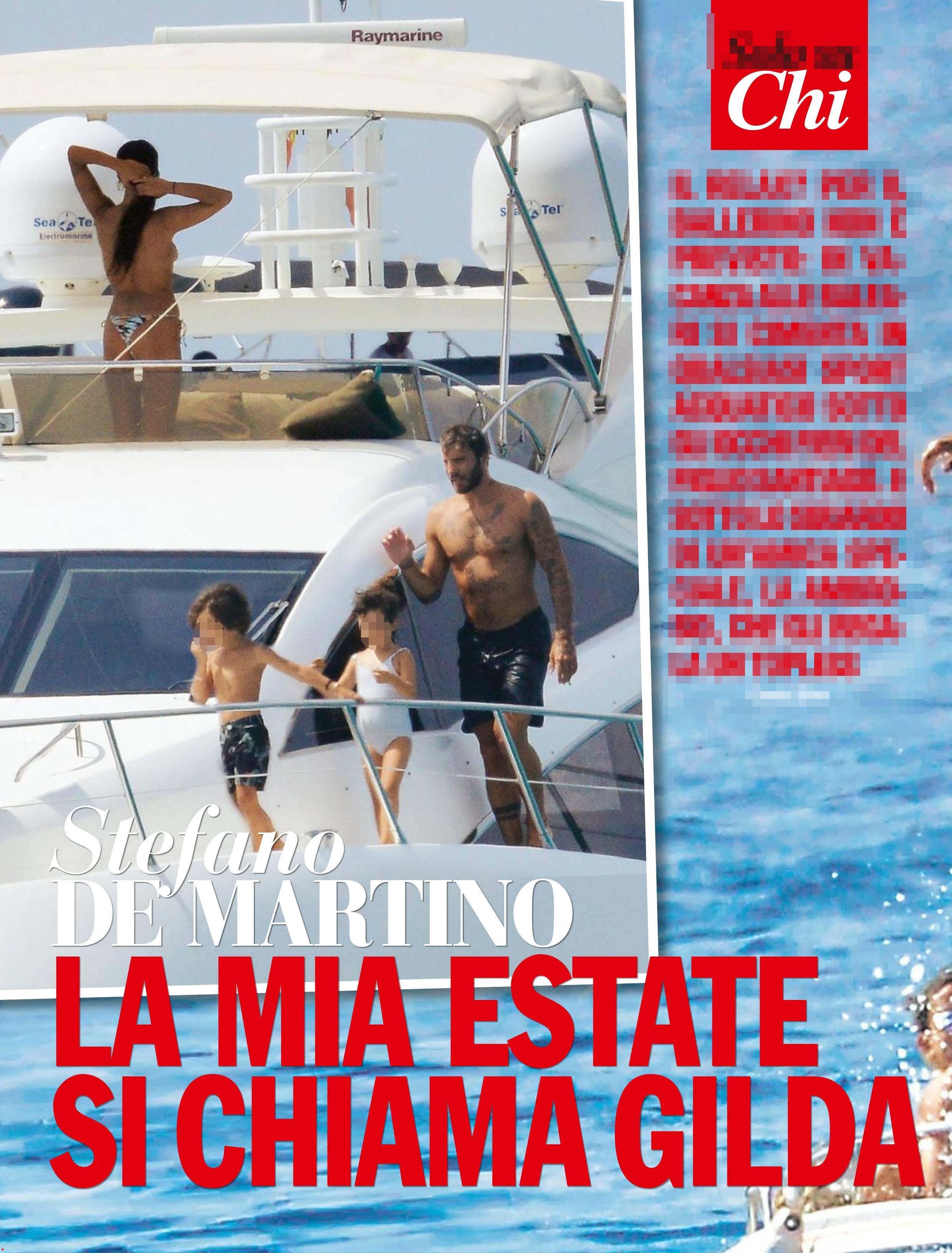 Gilda Ambrosio, che topless per Stefano De Martino!