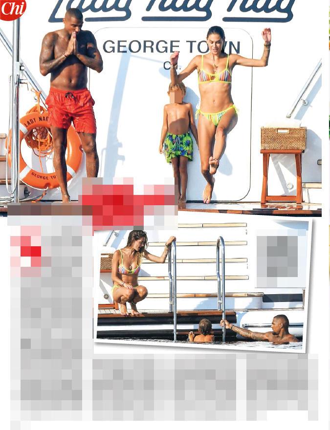 Satta e Boateng insieme in vacanza: è tornato l amore?