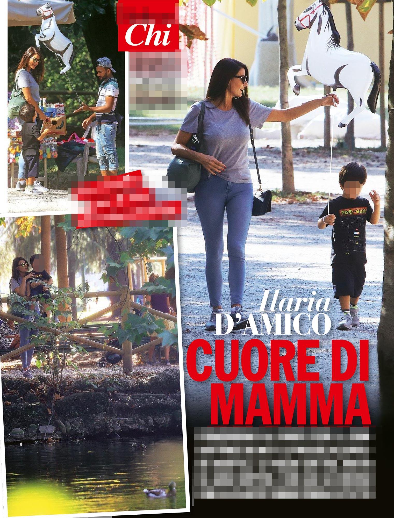 Ilaria D Amico senza Gigi Buffon, mamma che coccole!