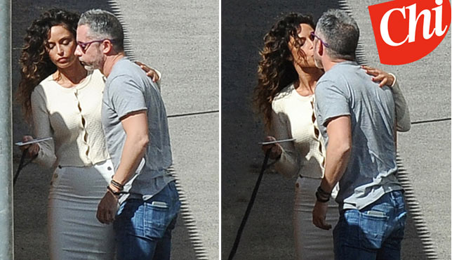 Raffaella Fico e Alessandro Moggi in love
