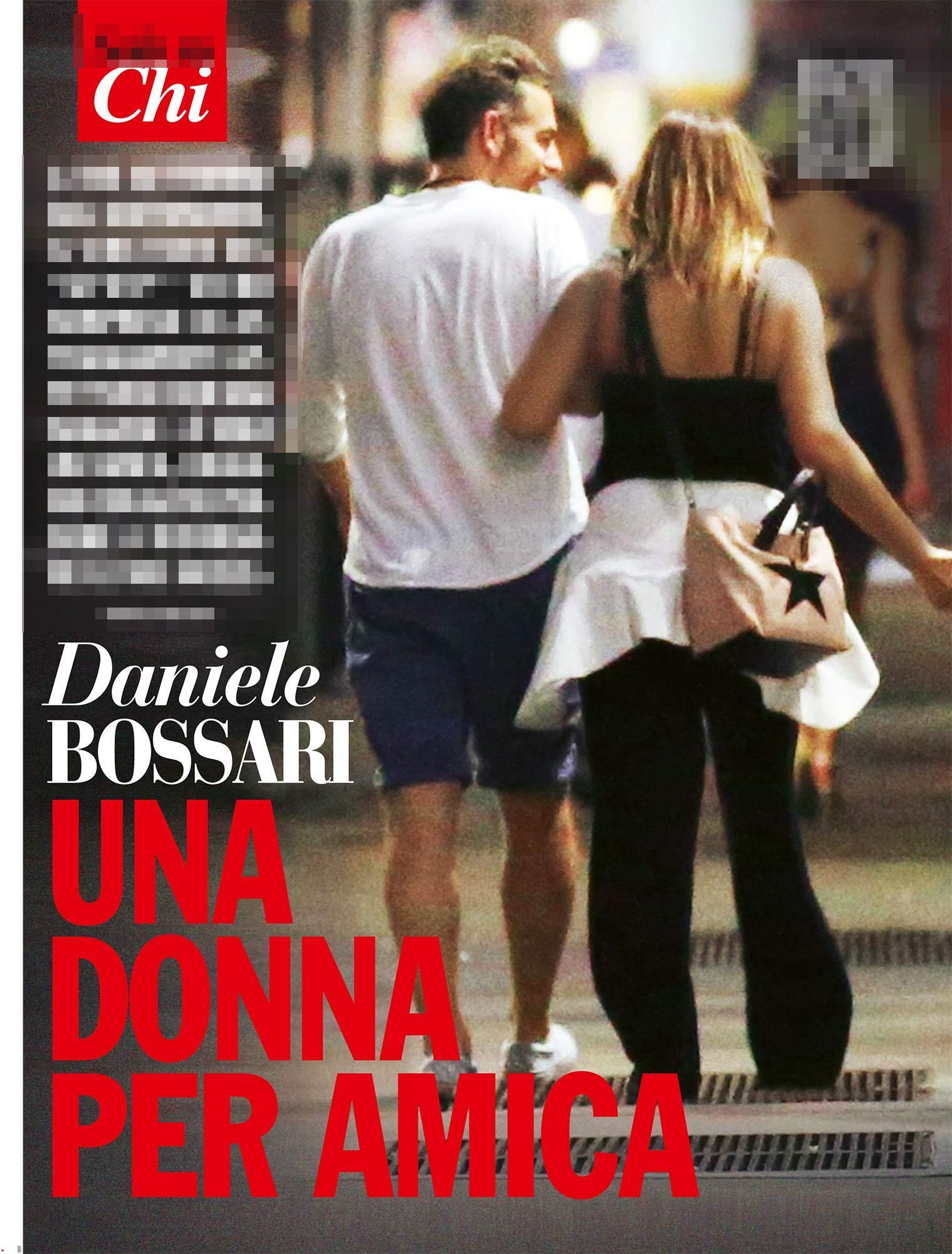 Daniele Bossari bacia una ragazza misteriosa:  E  solo un amica