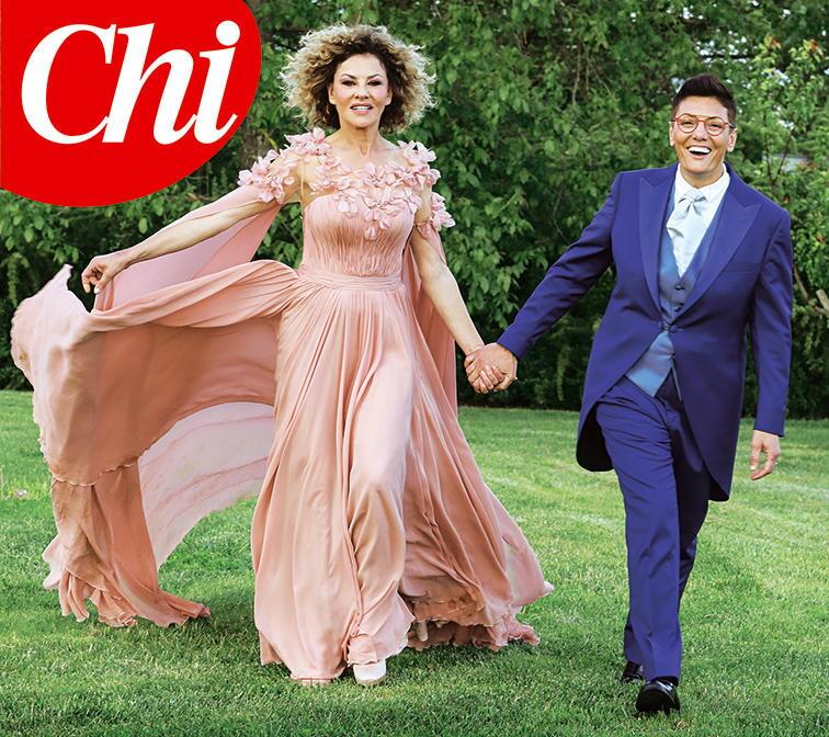 Eva Grimaldi e Imma Battaglia: in anteprima esclusiva per Tgcom24 le foto delle nozze pubblicate da  Chi