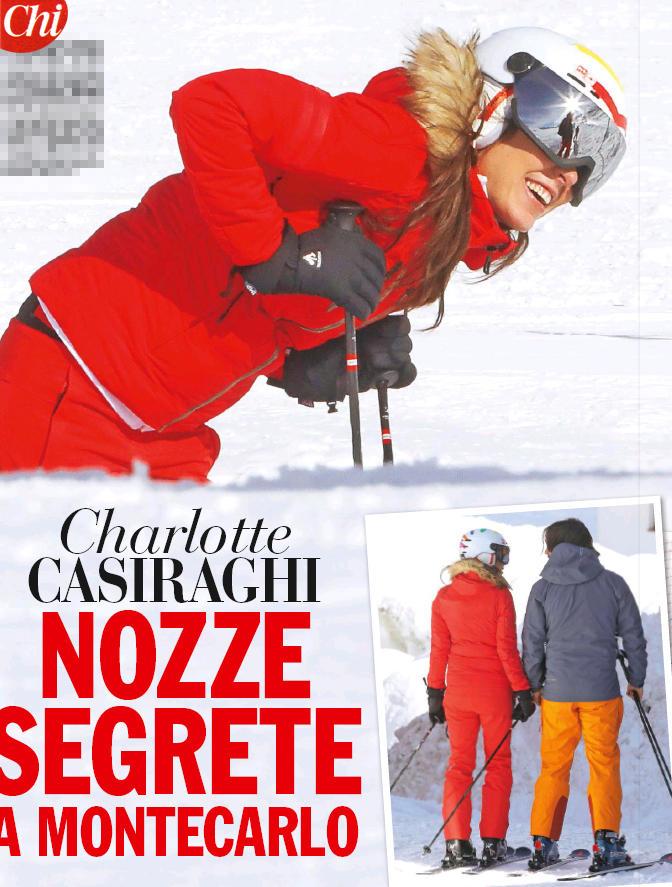 Charlotte Casiraghi si sposa a fine maggio