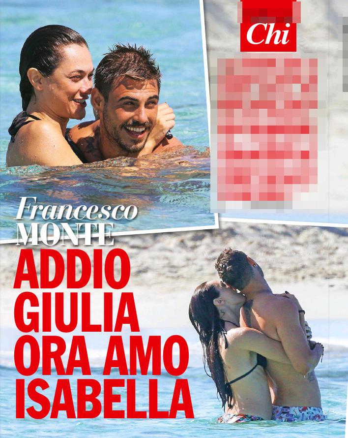 Francesco Monte, nuova vita con Isabella
