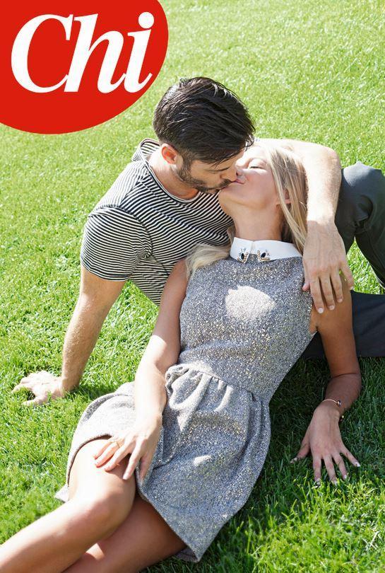 Mercedesz Henger e Sergio Arcuri, è amore