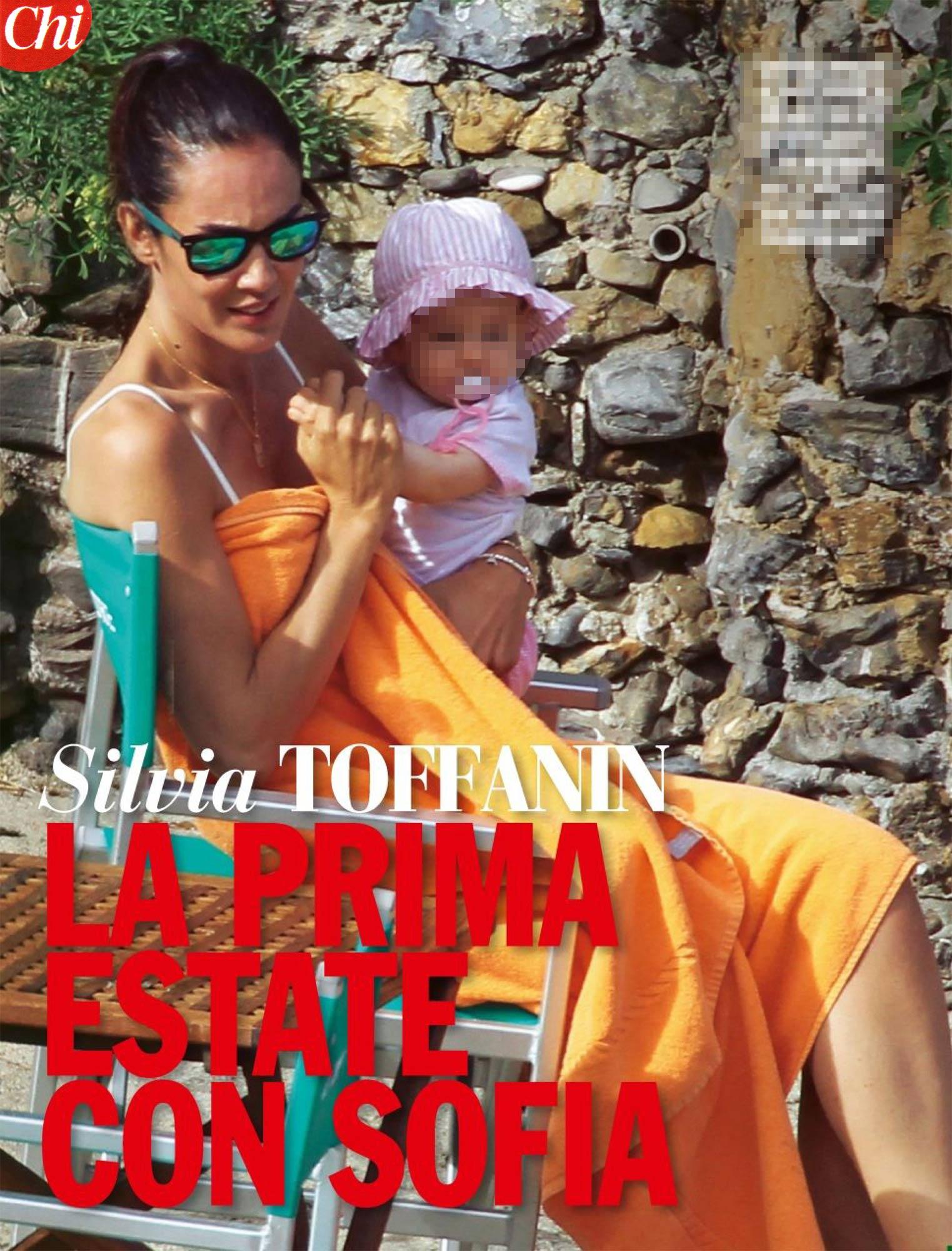 Silvia Toffanin tra mare e famiglia