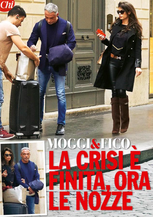 Raffaella Fico e Alessandro Moggi tornano insieme, sì in vista