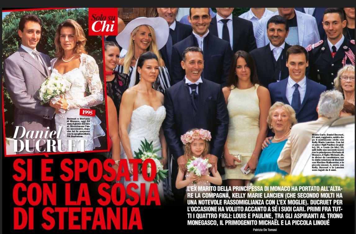 Daniel Ducruet si è sposato per la terza volta a Montecarlo