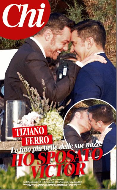 Le immagini del matrimonio di Tiziano Ferro