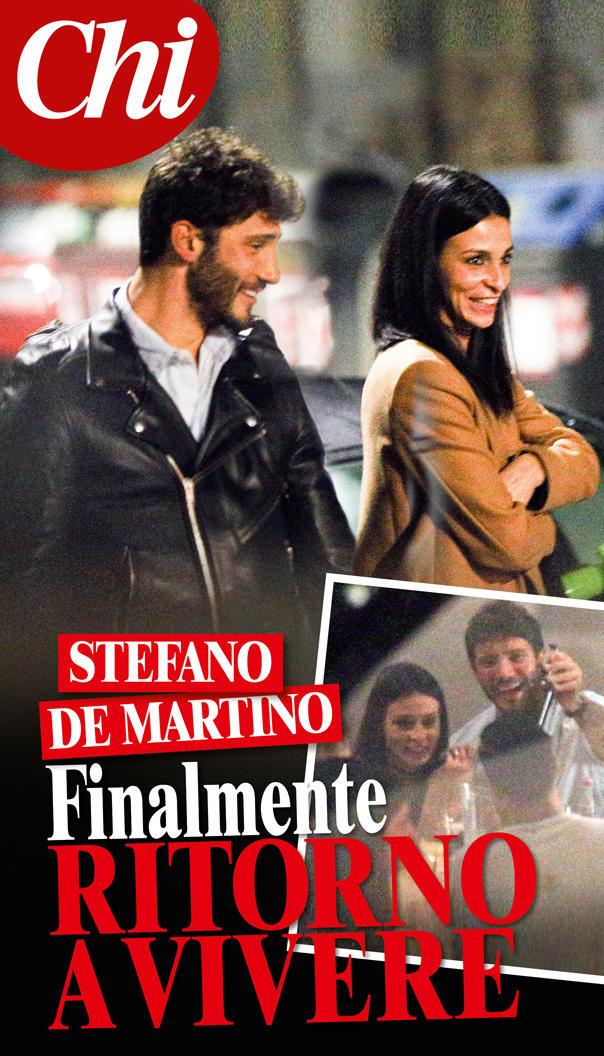 Stefano De Martino a Roma con una nuova ragazza