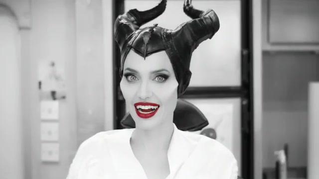 Angelina Jolie, trasformazione di una star in... fata cattiva