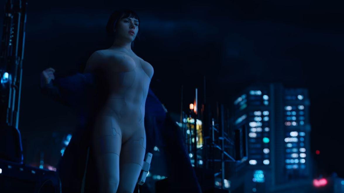 Ghost In Shell , Scarlett Johansson è una sexy cyborg