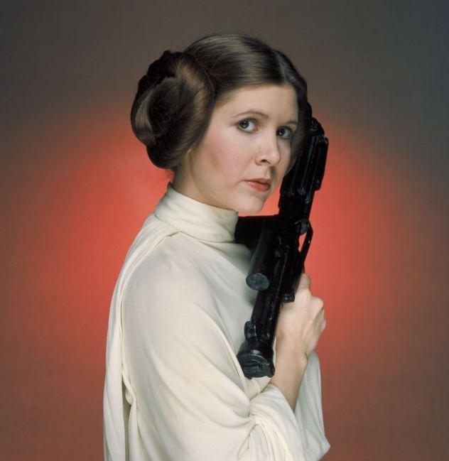 Carrie Fisher, non solo la principessa Leila: le foto della sua carriera