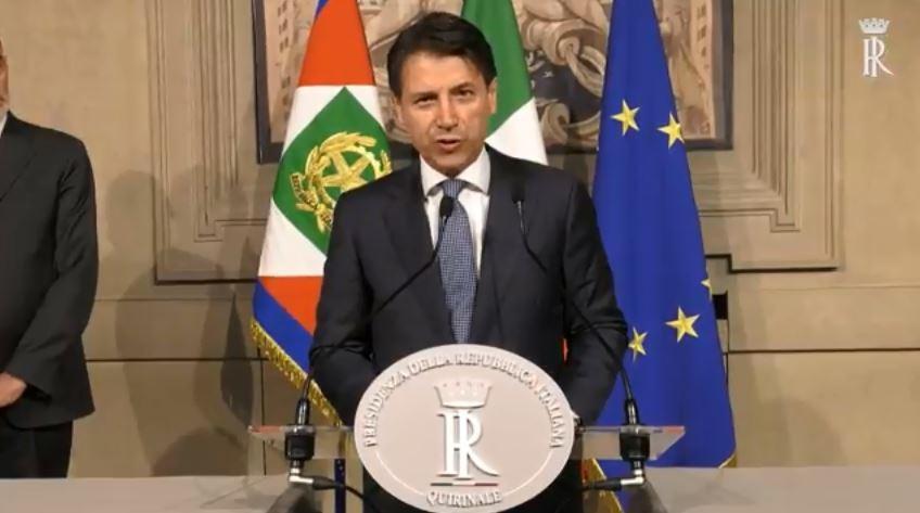 Governo, il presidente Mattarella conferisce l'incarico a Giuseppe Conte
