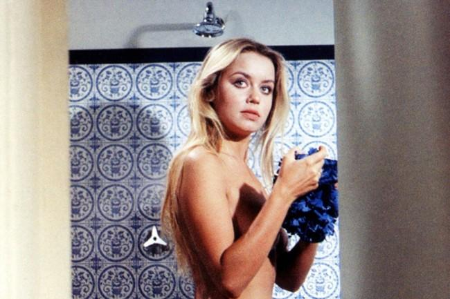 Gloria Guida, la regina delle docce sexy nella commedia anni 70
