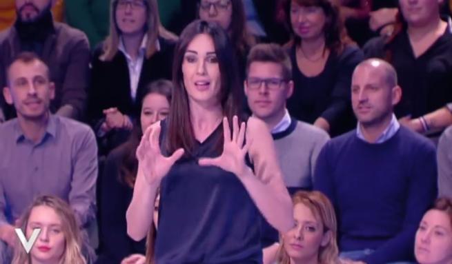 Verissimo , record di ascolti per la puntata con Simona Ventura ospite