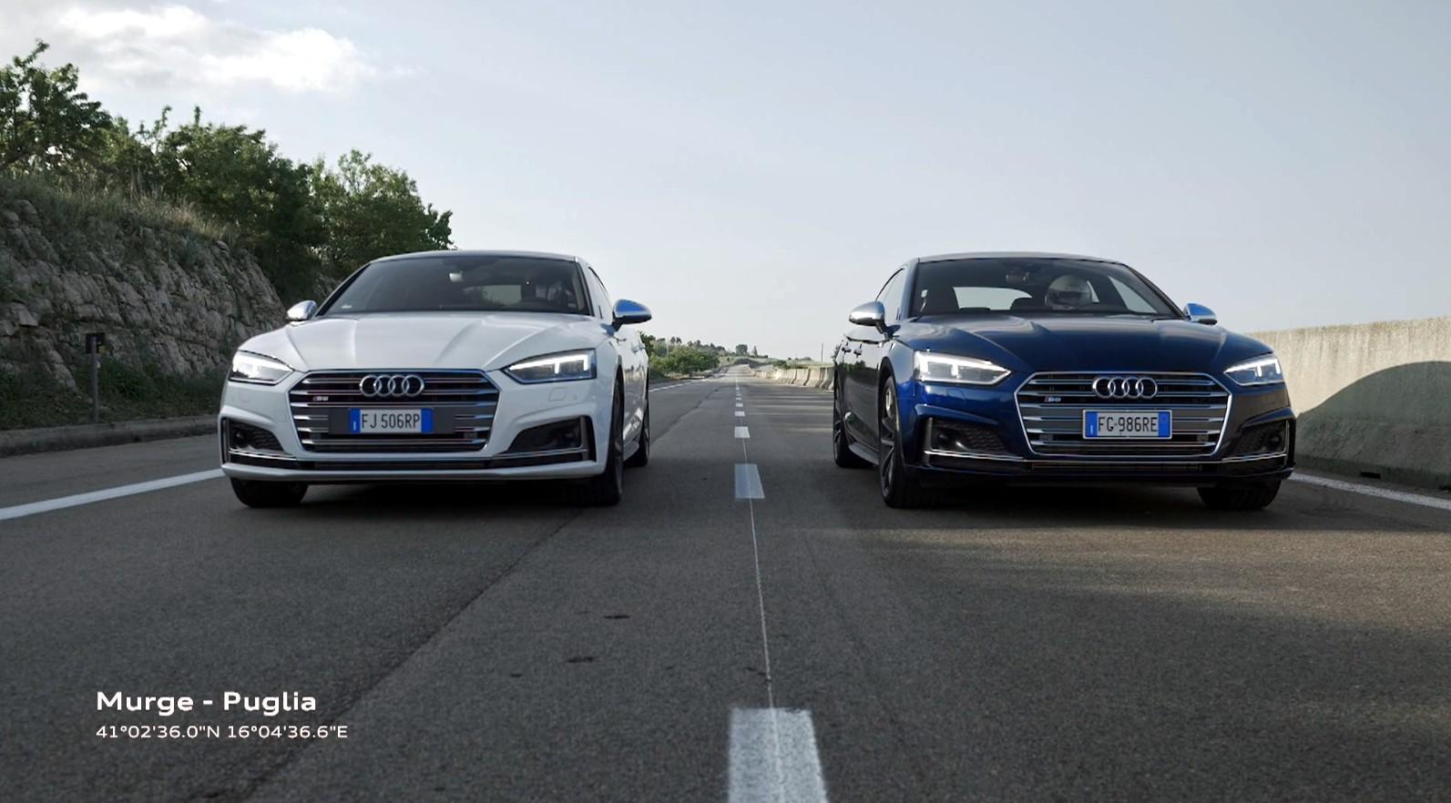 In Puglia l'Audi Trust Race