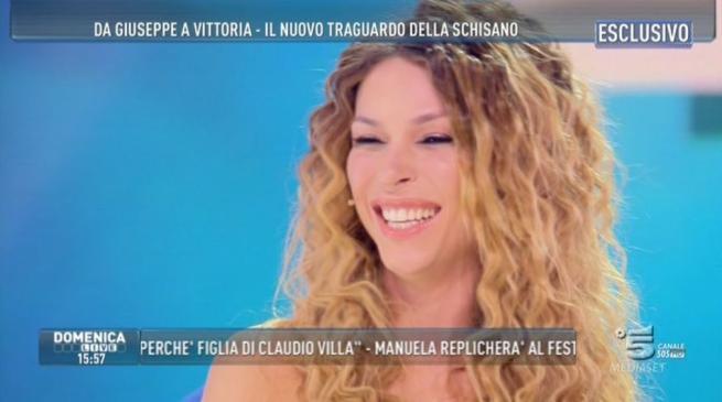 Vittoria Schisano, la trans a Domenica Live:  Dopo Playboy sogno Sanremo