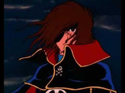 Capitan Harlock, 40 anni il pirata dello spazio sbarcava in Italia
