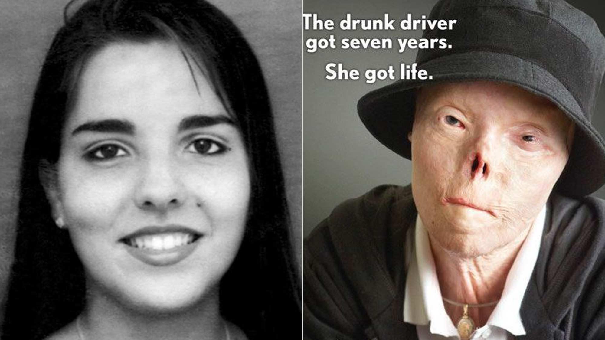 Addio a Jacqui Saburido, testimonial della campagna contro l'alcol alla guida