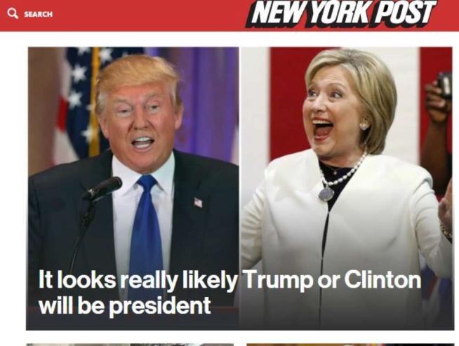 Il trionfo di Clinton e di Trump dopo il Super Tuesday in diretta sui giornali Usa