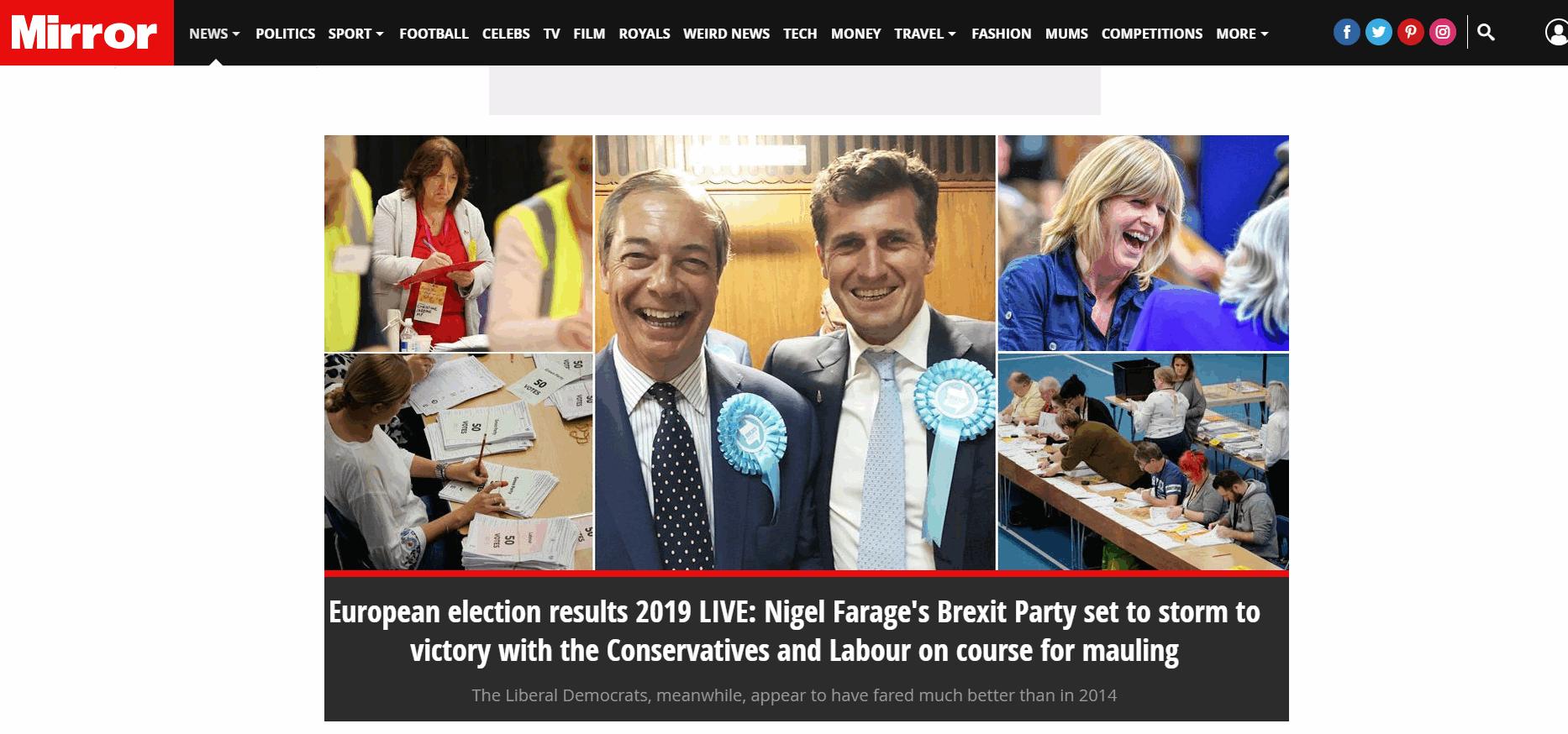 Elezioni europee, le prime pagine dei giornali internazionali