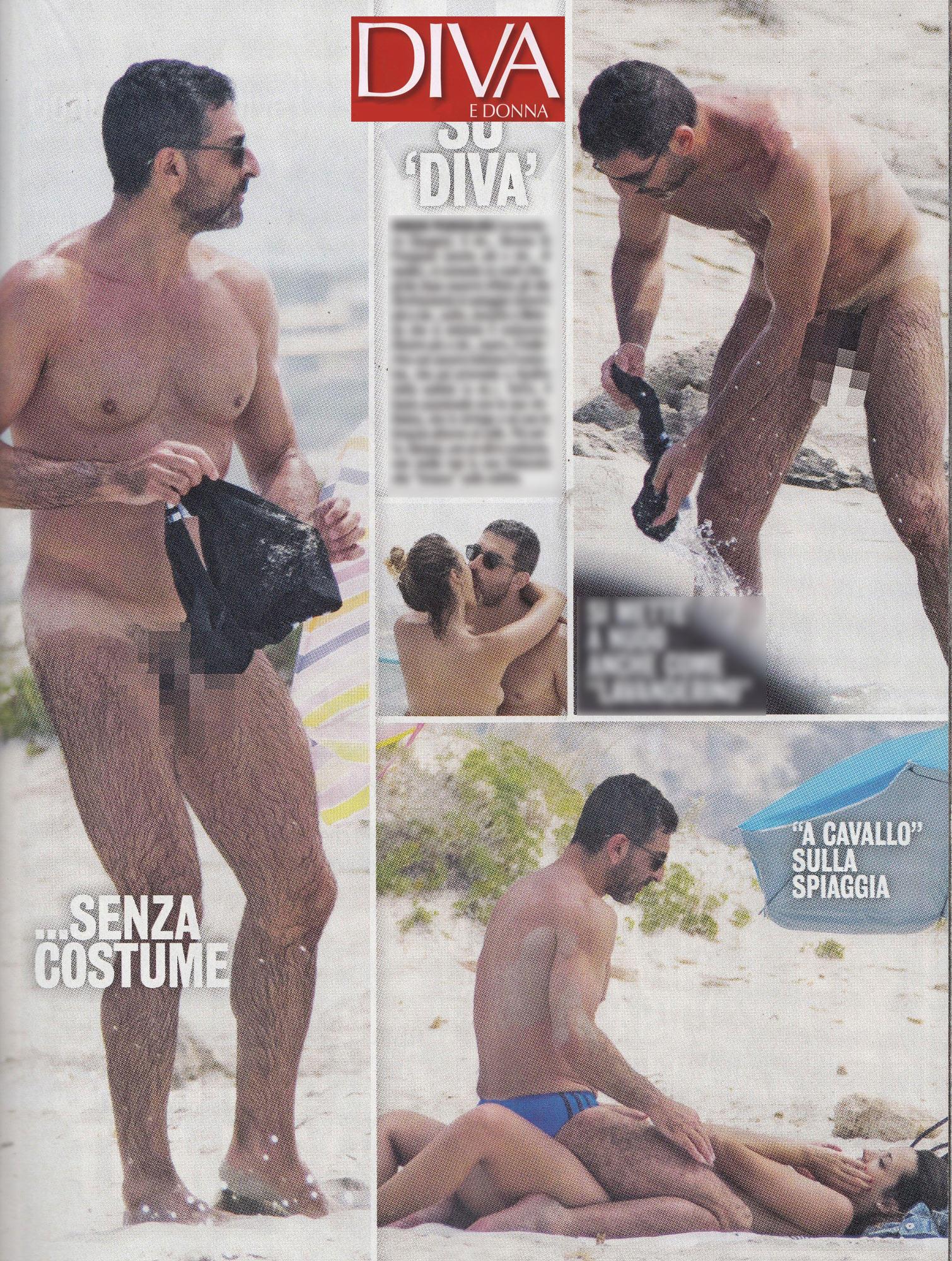 Simone di Pasquale, il ballerino dà scandalo in spiaggia