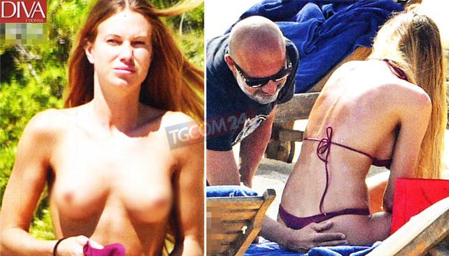 Taylor Mega finisce in topless per il suo milionario
