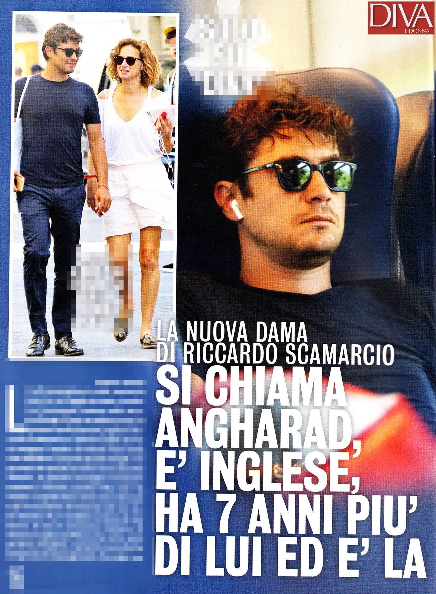 Riccardo Scamarcio, ecco la nuova fiamma Angharad